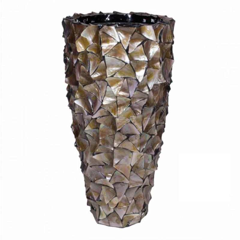 Conical Broken Shell Planter