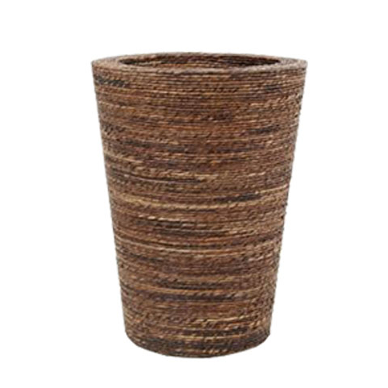 Conical Planter - Rope Finish