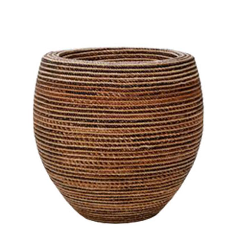 Fishbowl Planter - Rope Finish