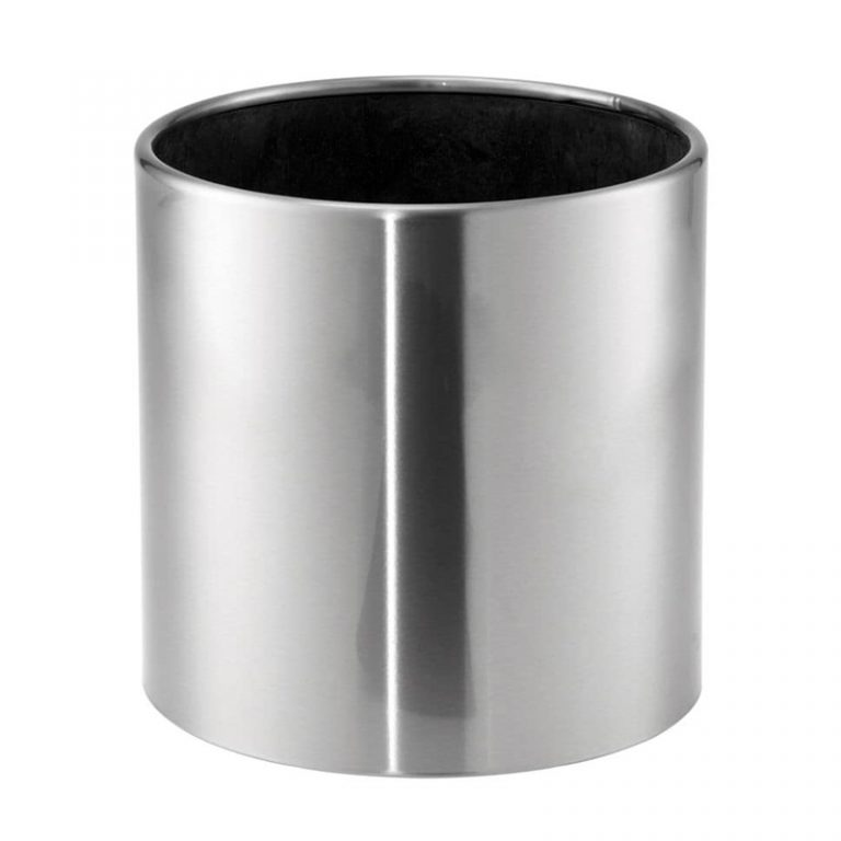 Round Metal Planter - Gloss Finish