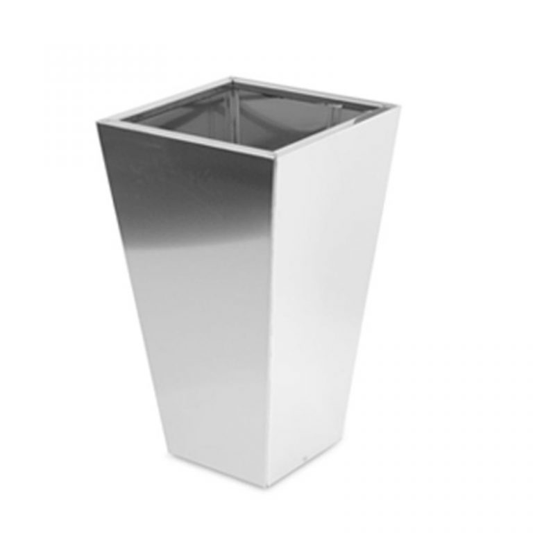 Tall Metal Conical Planter